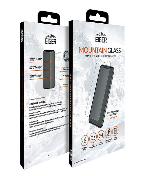 Eiger Mountain Glass Tempered Screen Protector for Samsung Galax S10