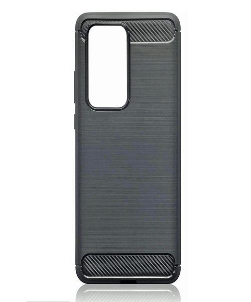 Huawei P40 Carbon Fibre Brushed Effect TPU Gel Case