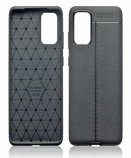 Huawei P40 Leather Texture Design TPU Gel Case